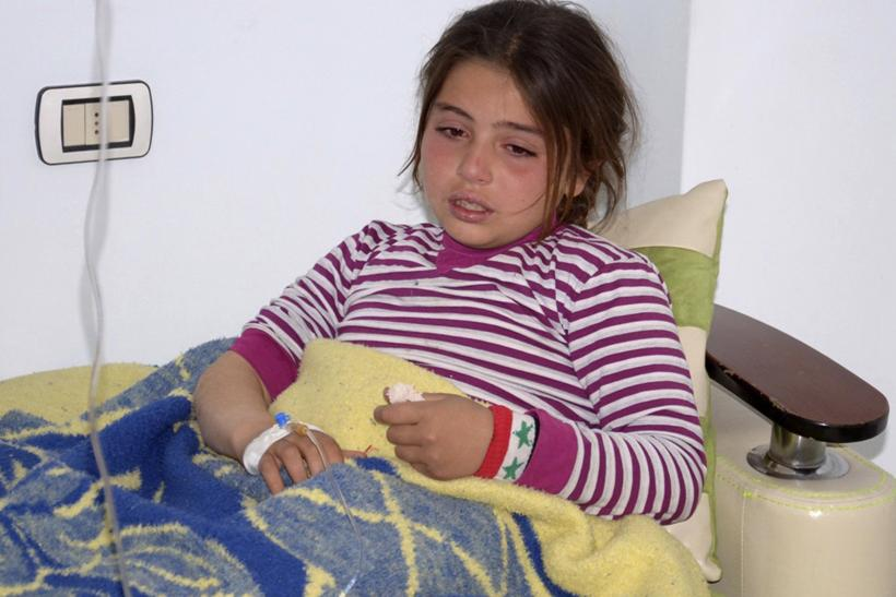 Girl in Syria