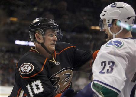 Ducks Re-Sign Right Wing Corey Perry