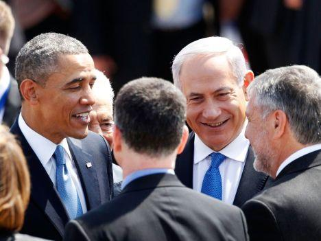 Obama and Bibi in Israel, March 20, 2013