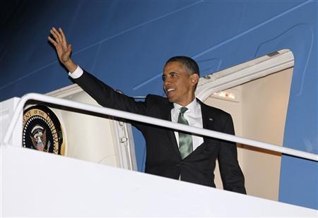Obama departing for Israel