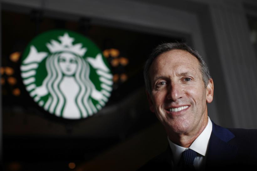 Howard Schultz, Starbucks Chairman & CEO