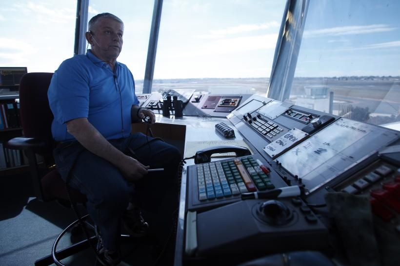 Mike Sargent, an Air Traffic Control specialist