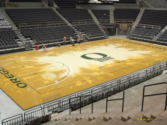 Fiu basketball 39 s new court design and 5 other crazy for Oregon floor