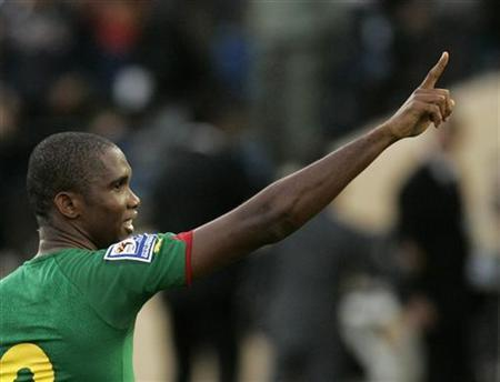 Late drama In Nigeria, Eto'o Double For Cameroon