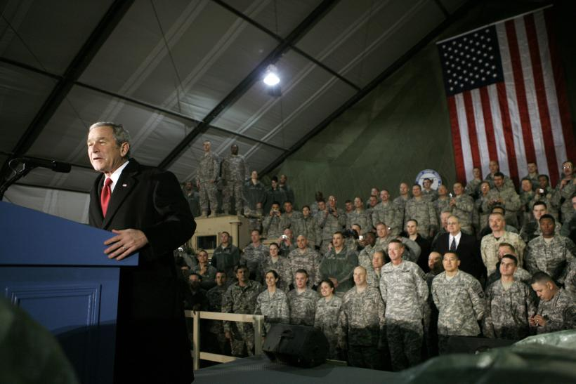 George Bush in Afghanistan