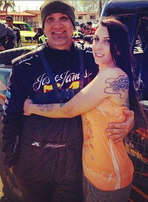 Jesse James Marries 4th Wife, Drag Racer Alexis DeJoria