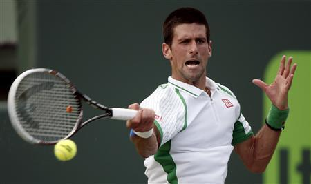 Djokovic And Sharapova Advance In Miami