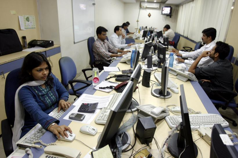 Female Workers At Mumbai Brokerage