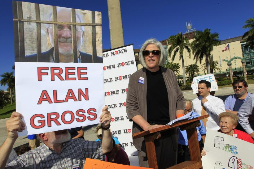 Protest for Alan Gross
