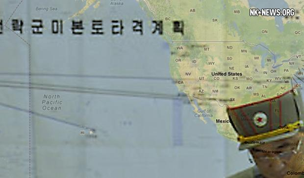 Map Overlay of North Korean Attack