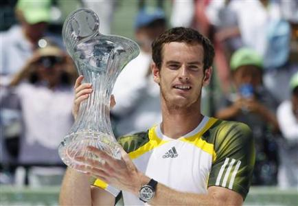 Murray Vaults To No. 2 With Miami Tie-break Win Over Ferrer
