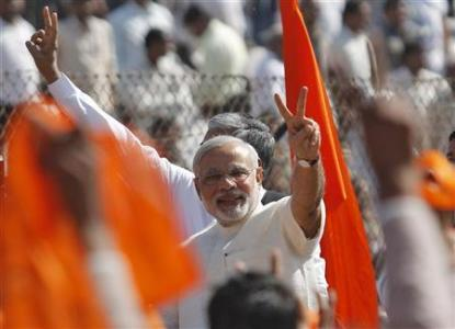 Modi's Induction Into BJP's Top Board, A Step Closer To Becoming PM Nominee?