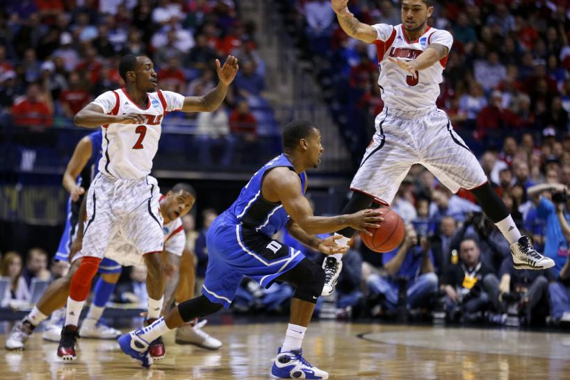 Russ Smith Peyton Siva Louisville
