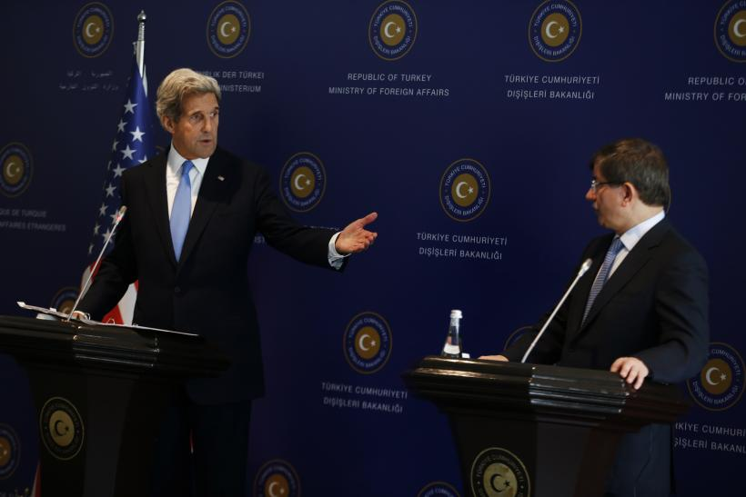 Kerry and Davutoglu