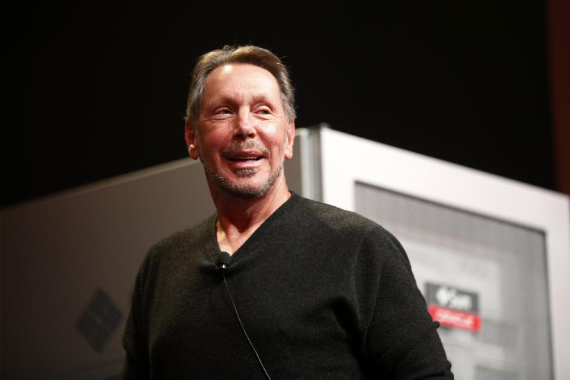 Oracle Corp.'s Larry Ellison