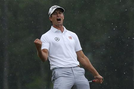 Adam Scott Wins Masters In Playoff
