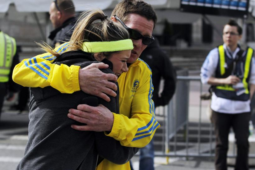 Boston Marathoner After Bombing