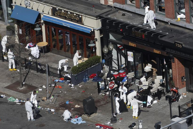 Boston Bombing crime scene day 3 17April2013