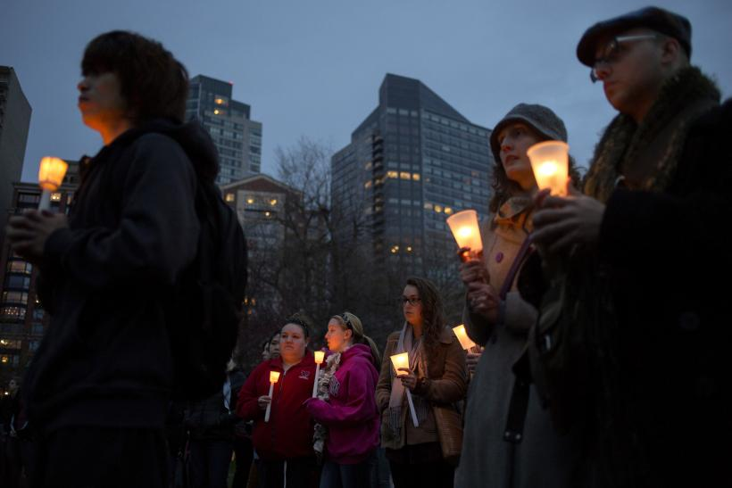 Boston Bombing vigil 16April2013