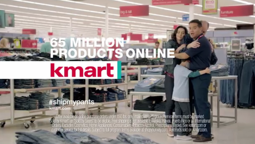 "Kmart's ""Ship My Pants"" Commercial"