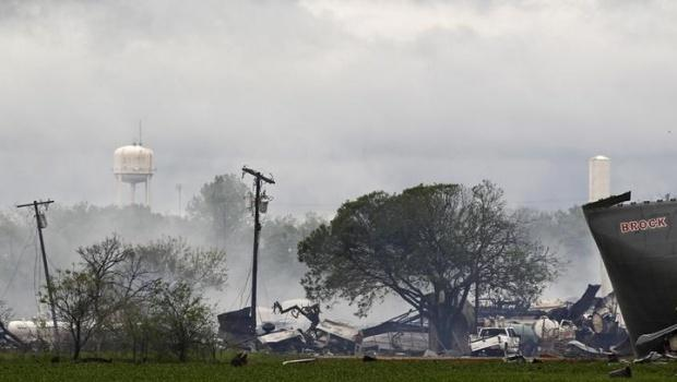 Texas explosion wide 18April2013