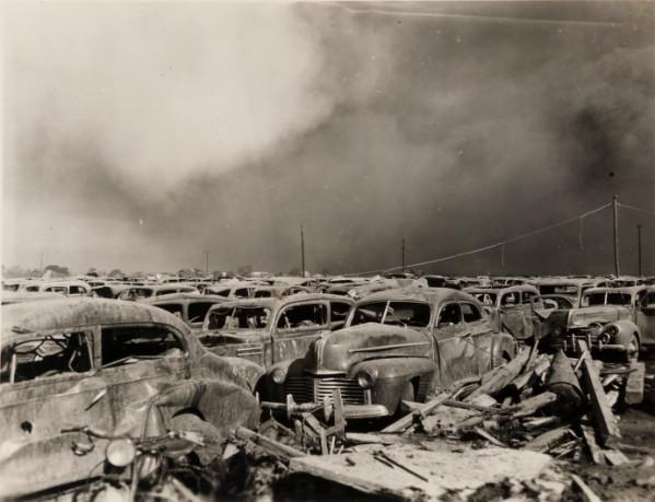 Damage from Texas City disaster