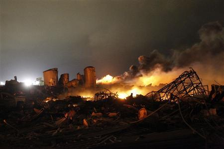 Texas Fertilizer Plant Explosion Death Toll: 14