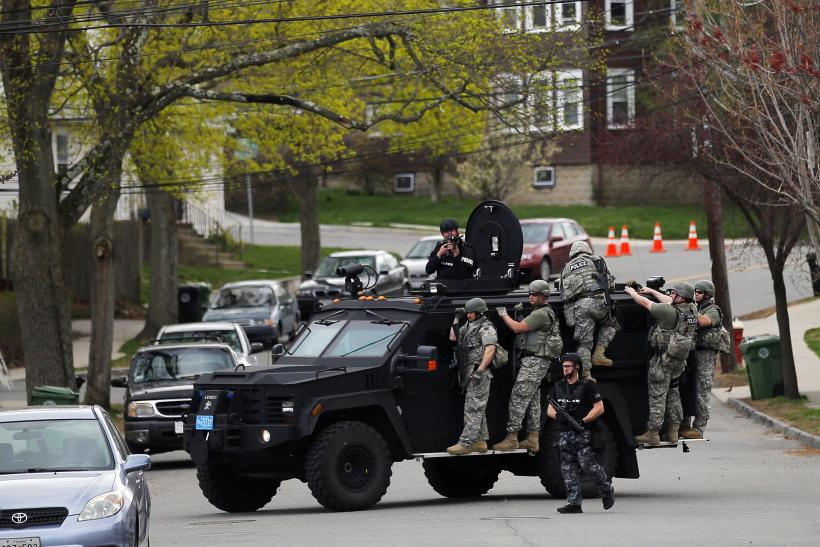 Boston Manhunt vehicle 19April2013