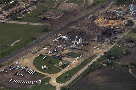 Texas Fertilizer Plant Explosion Update: 12 People Dead, No Indication of Foul Play