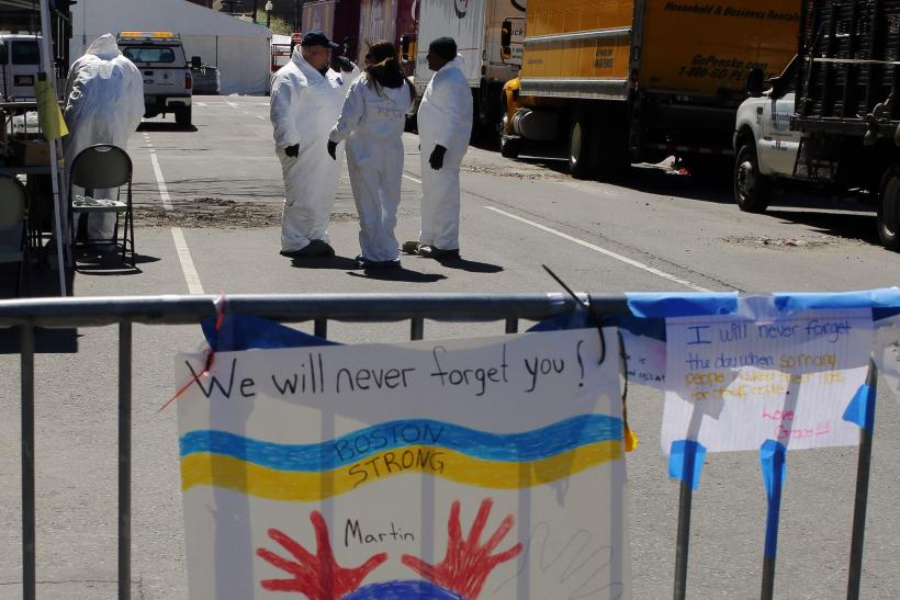 Boston Marathon Bombing Sign