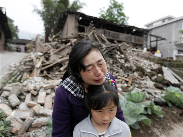 April 2013 China Earthquake