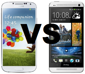 Samsung Galaxy S4 Vs HTC One: 2013 Flagship Smartphone Match Up