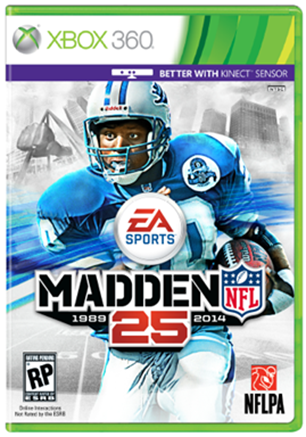 'Madden NFL 25' Cover Athlete Is Barry Sanders