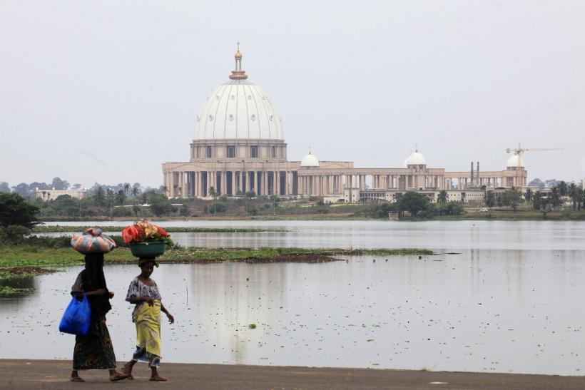 Basilica of Our Lady of Peace in Yamoussoukro, Ivory Coast