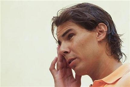 Nadal Advances In Barcelona