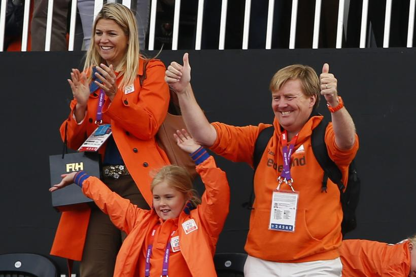 Dutch royal family at the Olympics