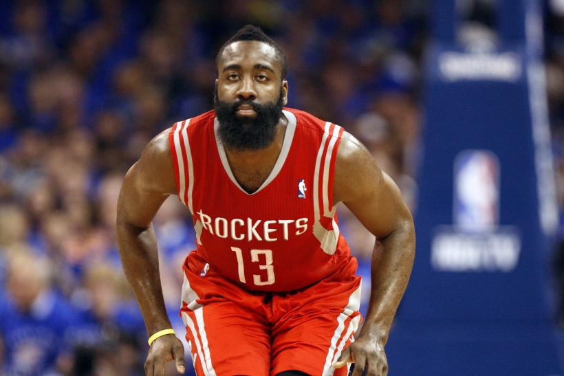 James Harden Houston Rockets Playoffs