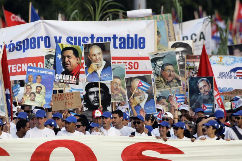May day Marches in Havana