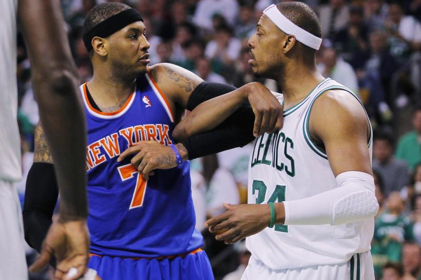 Carmelo Anthony Paul Pierce