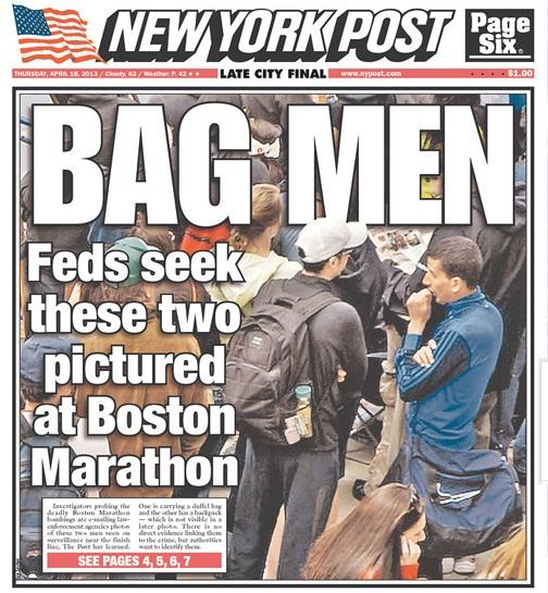 New York Post Cover Bag Men