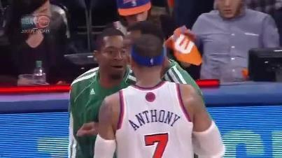 Carmelo Anthony, Jordan Crawford Exchange Words After Game 5