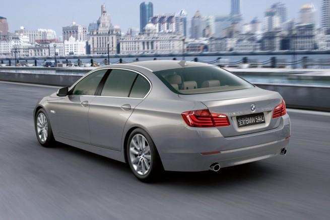 Chinese version of the BMW 5 Series
