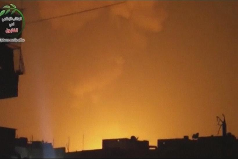 Israeli air raid on Syria