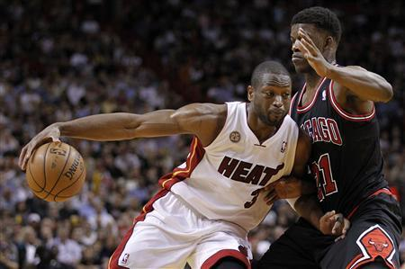 Bulls Look To Upset Heat In Game 2
