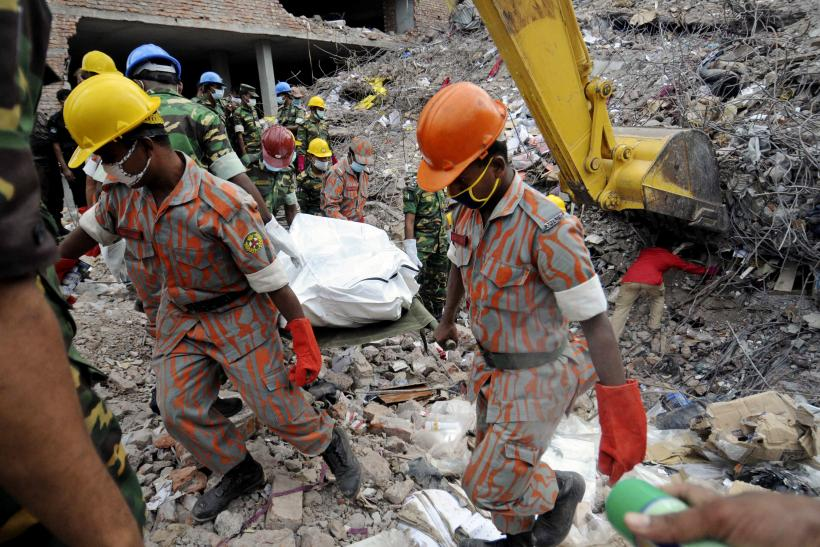 Bangladesh Building Collapse May 2013