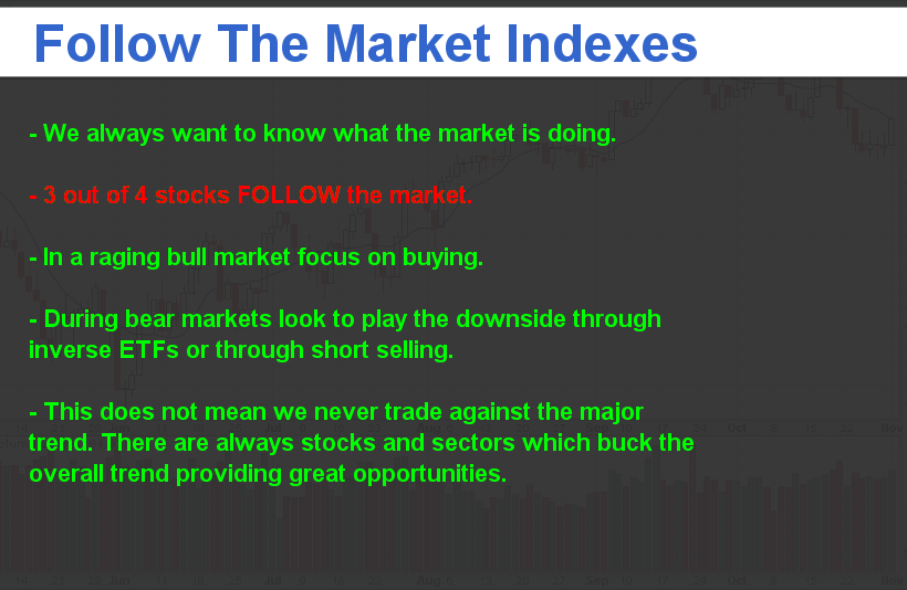 Follow the Market