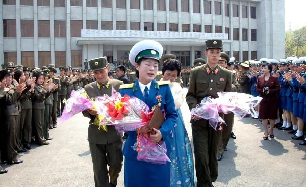 North Korea's Crying Hero
