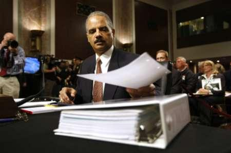 Eric Holder Says He Turned Over His Phone Records In AP Scandal