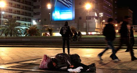 A Cheap New Drug Decimates Greece's Homeless Population