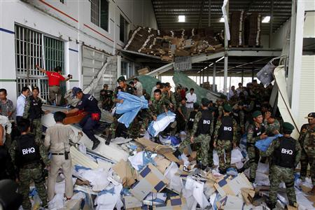 Shoe Factory Collapses In Cambodia: Another Bangladesh Situation?